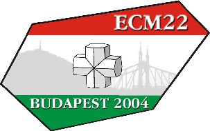 ECM 22 XXII European Crystallographic Meeting